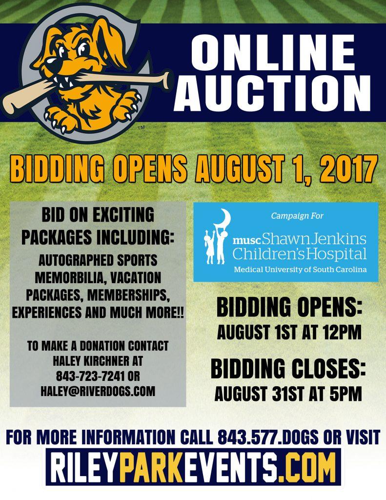 Online Auction Flyer 17 2