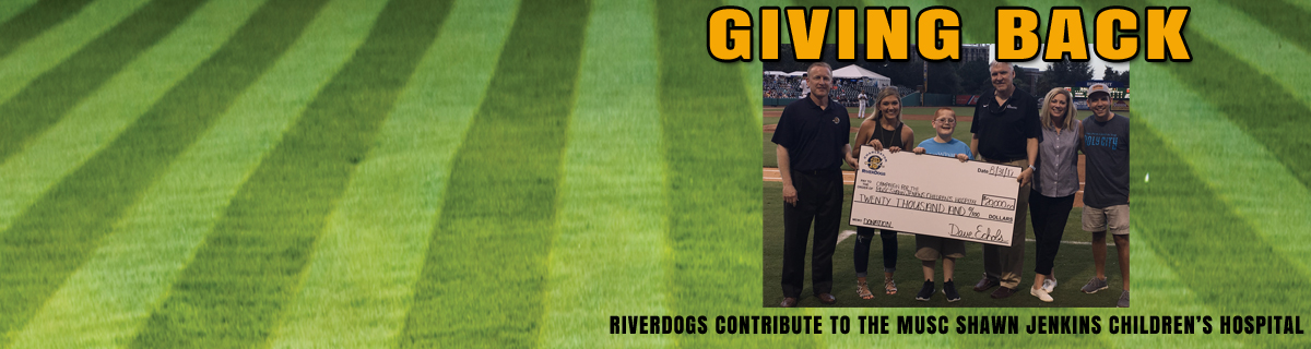 RiverDogs Give Back